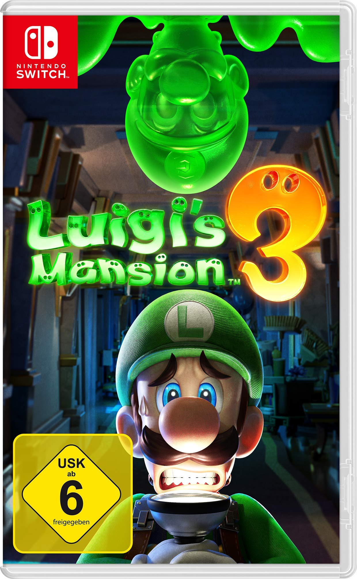 Luigi's Mansion 3. Nintendo Switch [Edición: Alemana]