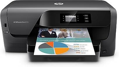 HP OfficeJet Pro 8210 Single Function Printer (Auto-Duplex & Wifi & Network)