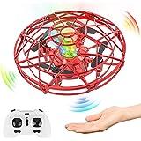 Baztoy Drone Enfant à la Main Mini UFO Fly Spinner 2,4GHz RC Hélicoptère Avion Télécommande Lumineux Induction Infrarouge Jou