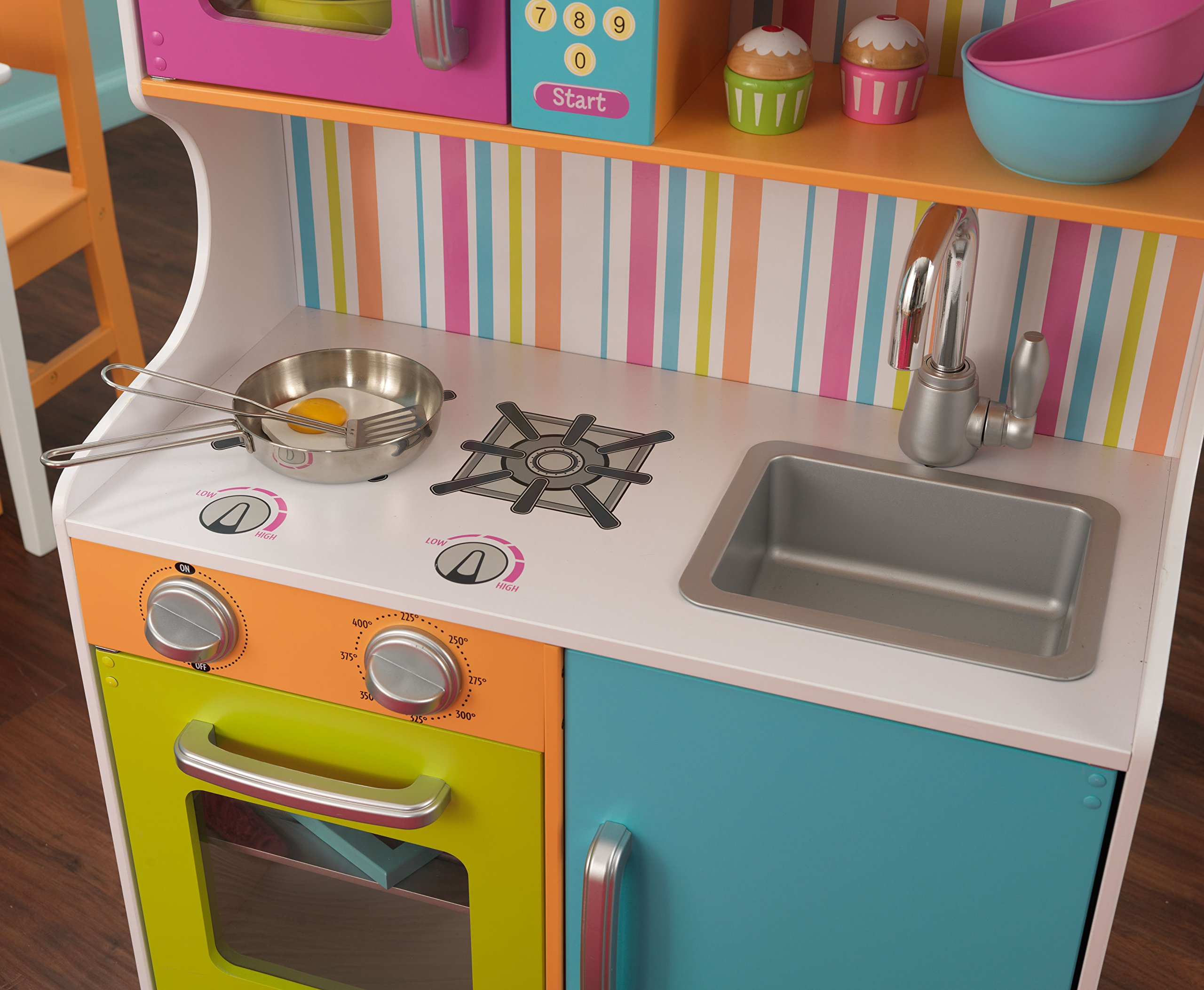 Kidkraft 53378 cucina giocattolo in legno bright toddler giochi legno