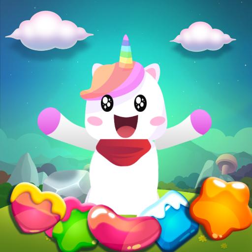 Puffy Bubble Unicorn Shooter