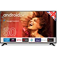 """Cello ZG0205 50"""" Smart Android TV with Freeview Play, Google Assistant, Google Chromecast, 3 x…"""