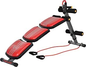 IRIS Fitness 3 in 1 Multifunctional Abdominal Board with Toning Bands