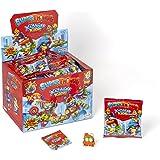 SUPERTHINGS Kazoom Kids – Caja de 50 One Packs con figuras de la serie Kazoom Kids. Cada sobre contiene 1 SuperThing y 1 chec