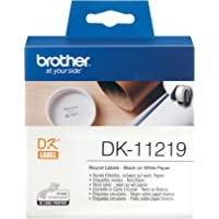 Brother DK-11219 | Rouleau d'étiquettes, original | noir sur blanc | 12 mm