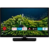 HITACHI H24E2000 24 Zoll Fernseher (HD Ready, Smart TV, Prime Video, Works with Alexa, Triple-Tuner, PVR)
