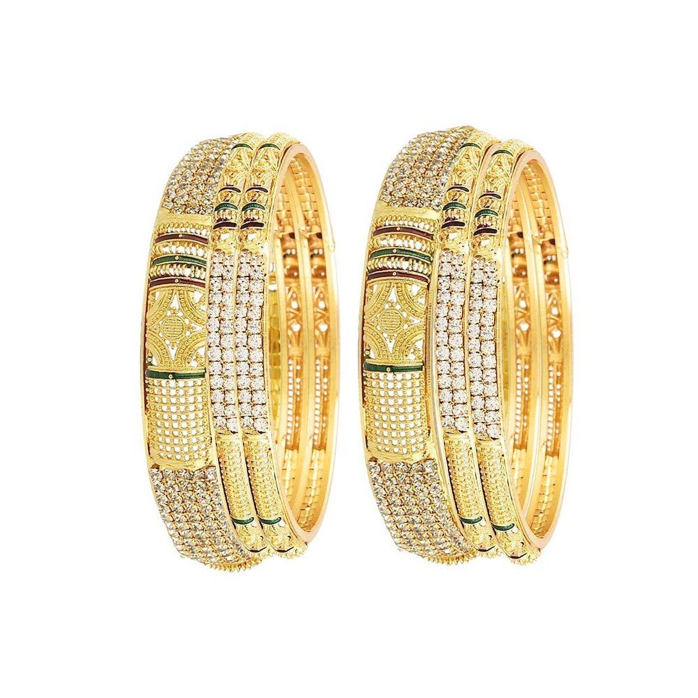 0751fa94494 Sitashi 18 K Gold Plated Alloy   Pearl Fashion Jewellery Combo of ...