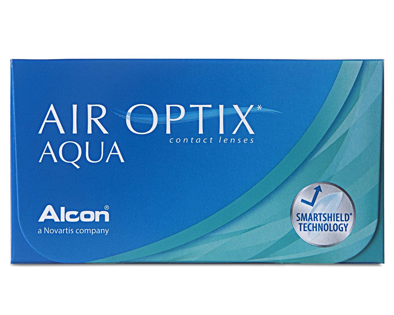 Air Optix Aqua Monatslinsen weich, 6 Stück / BC 8.6 mm / DIA 14.2 /