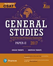 General Studies Paper II For Civil Services Preliminary Examination 2017