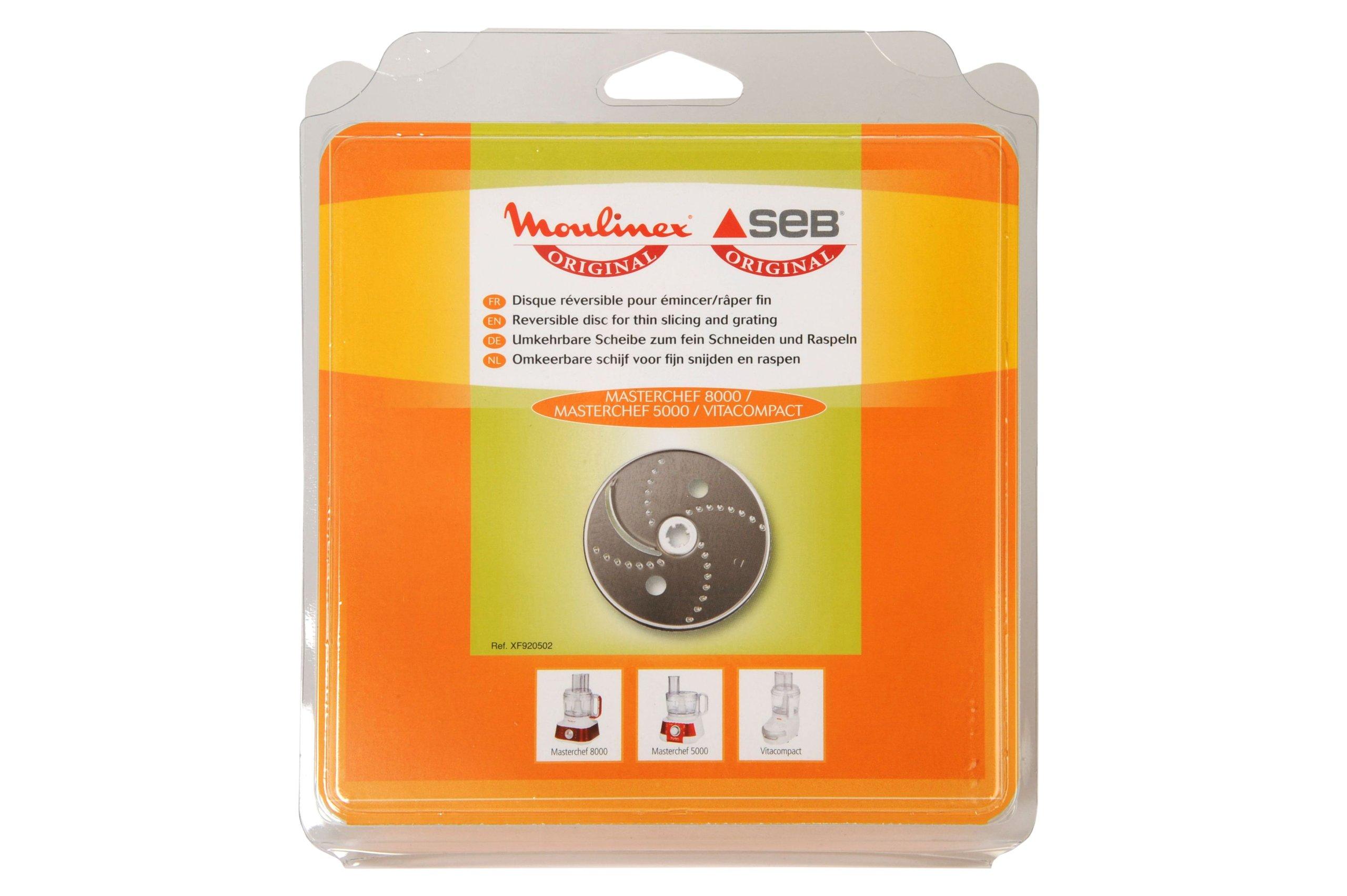 Moulinex XF920502 - Disco rallador para Masterchef 5000 y 8000 Vitacompact