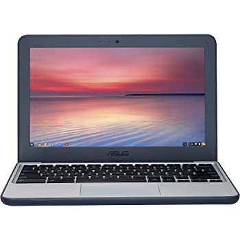 ASUS C202SA-GJ0027 11.6-inch Chromebook Ruggedised and Water Resistant Design with 180 degree Hinge (Dark Blue) - (Intel Celeron N3060 Processor, 2 GB RAM, 16 GB eMMC, Chrome OS)