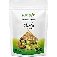 Elemensis Naturals Pure & Natural Amla Powder for Face, Healthy and Strong Hair and Hair fall Control Repairs damaged…
