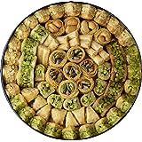 Baklava MASSARA Premium Edition 700 grammi in scatola di metallo - Baklava misto con pistacchi, anacardi e pinoli