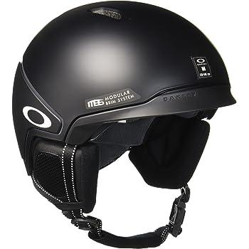 Oakley MOD3 Snowboard, Esquiar Negro Casco de protección - Cascos de protección (Unisex, Mate, Negro)