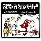 Minderheiten-Quartett - Set aus Basisspiel plus Erweiterung - Das politisch semikorrekte Kartenspiel.