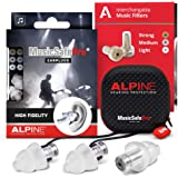 Alpine MusicSafe Pro Gehörschutz Ohrstöpsel für Musiker - Werte dein Musikerlebnis auf ohne Hörschäden zu riskieren - Drei au