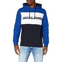 Jack & Jones Jjelogo Blocking Sweat Hood STS Sweatshirt Capuche Homme