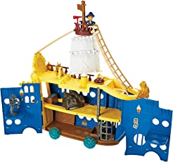 Mattel DMW56 Fisher-Price - Käpn't Jake's Magnus Colossus Spielset