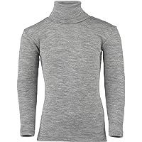 Engel Merino Wool Silk children Turtleneck T-shirt boy girl organic thermal underwear