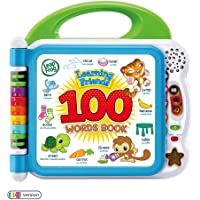 LeapFrog 601503 Learning Friends 100 Words Baby Book Educational and Interactive Bilingual Playbook Toy Toddler and Pre…