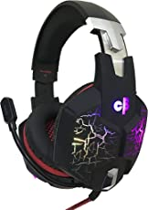 Cosmic Byte G1500 7.1 Channel USB Headset for PC/PS4 with RGB LED Lights (Black/Red)