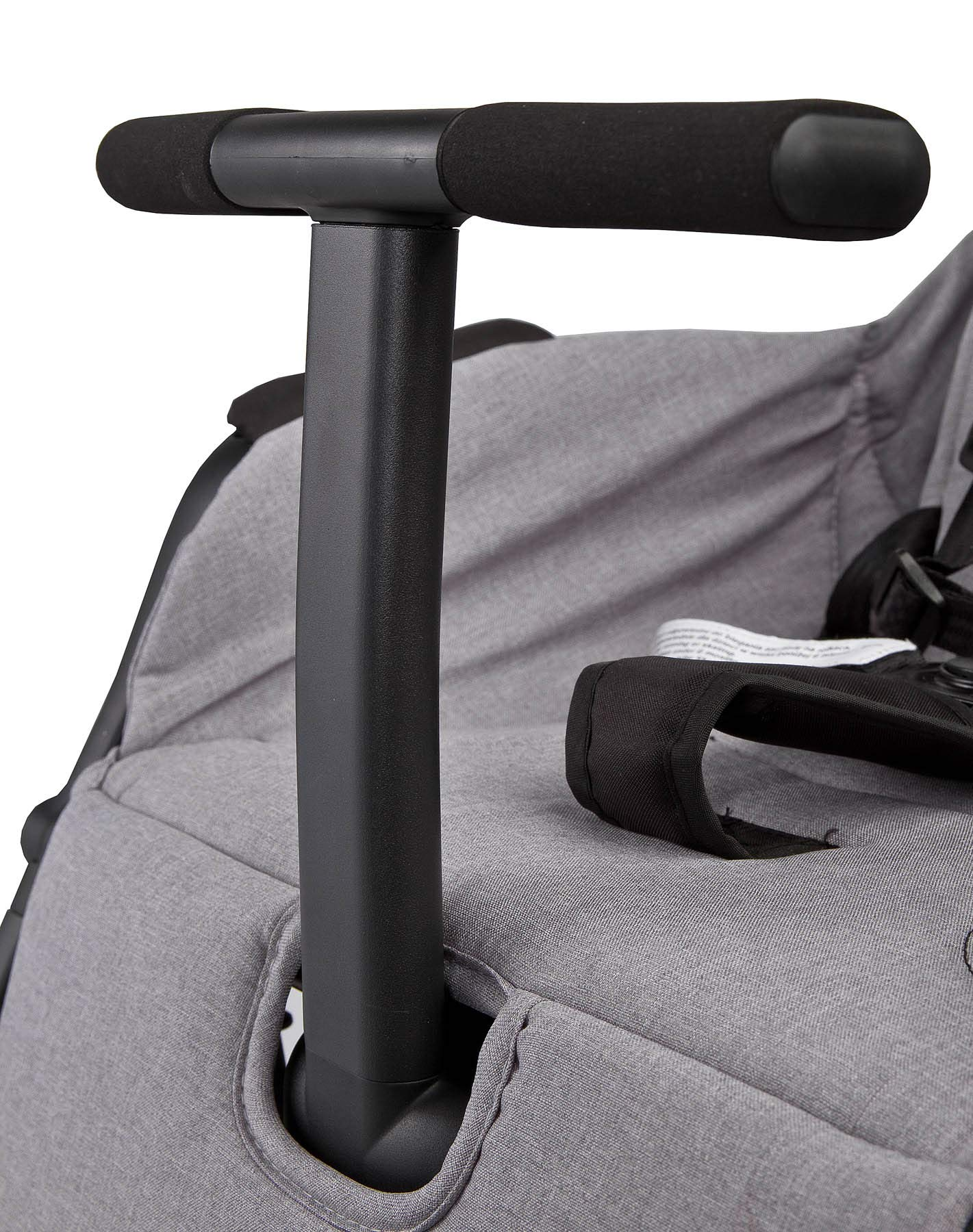 Aviator Ultralight Pushchair Grey Caretero Stroller for babies from 6 months Month weighing up to 15 kg Compact size and light weight (7.1kg) for easy manoeuvring and transport Eva foam wheels front with cushioning for driving comfort 9