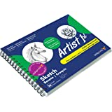 Askprints Artist Sketch Book Wiro Bound 9 x 12 inches 100 Pages (Acid Free) 120 GSM (AP-777)