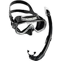 Cressi Unisex-Erwachsene Onda Mare Schnorchelset Tauchset Taucherbrille