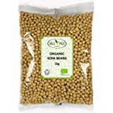 Organic SOYA Beans by Bold & Pack (1kg)