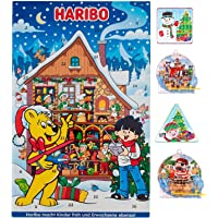 Glow in the Dark - Haribo Sweets Advent Calendar 2021 with surprise Pin Ball or Maze Puzzle Game Included. Great…