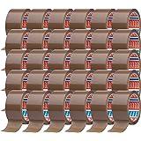 tesa 64014 Plakband, verpakkingstape 66 m x 50 mm (30 rollen, bruin)