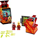 LEGO Ninjago - Cabina de Juego: Avatar de Kai, Set de Construcción de Máquina Arcade Coleccionable con Minifigura de Kai, Jug