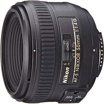 Nikon Obiettivo Nikkor AF-S 50mm 1:1,4G, Nero [Versione EU]