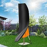 PATHONOR Couverture de Parasol en 420D Oxford Bâche parasol Housse de Protection Parasol avec tige/imperméable Sac de Rangeme