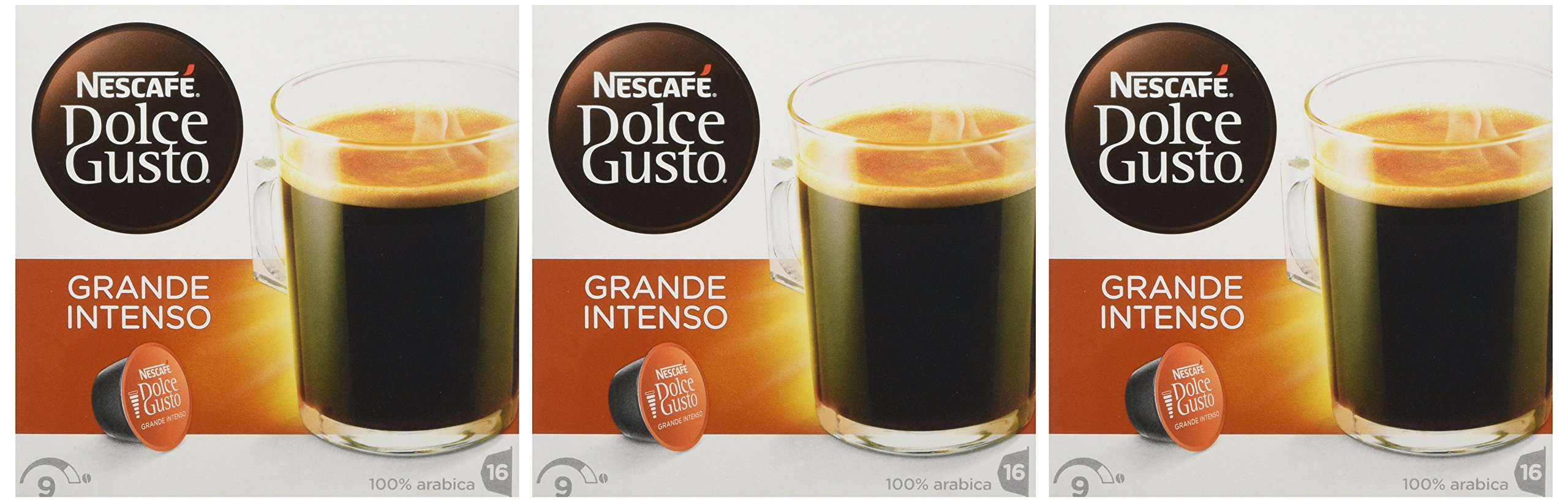 Nescafé Dolce Gusto Americano coffee pods and capsules (a black cherry, fruit notes coffee with aromas of fresh fruit and petals)
