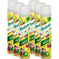 Batiste, shampoo a secco, con fragranza al cocco e tropicale esotico, per rinfrescare i capelli, per tutti i tipi di…