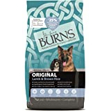 Burns Pet Nutrition Hypoallergenic Complete Dry Dog Food Adult and Senior Dog Original Lamb and Brown Rice 2 kg