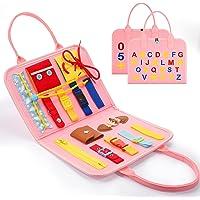 BOXYUEIN Portable Busy Board Montessori Jouet Éducatif - Enfants Jouets & Cadeaux