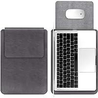 TECOOL Laptop Hülle 13,3 Zoll Tasche, Wasserdicht Kunstleder Schutzhülle Case für 2012-2020 MacBook Air/Pro 13,MacBook…