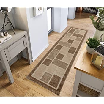 30211fb8d8b Lord of Rugs - Modern Decorative Contemporary Design Grey Beige Rug and  Runner Hand Tufted