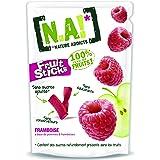N.A! Nature Addicts - Sachet de Fruit Sticks Framboise 40g - 100% Issu de Fruits - Sans Sucres Ajoutés, Sans Édulcorants ni C