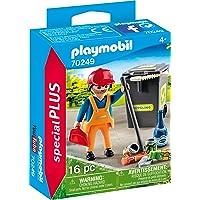Playmobil Agent d'entretien de la voirie Multicolor 70249