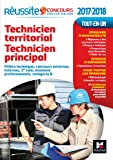 Réussite Concours Technicien territorial - Technicien principal Catégorie B 2017-2018 Nº60