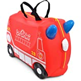 Trunki Children's Ride-On Suitcase & Hand Luggage: Frank Fire Engine (Red)