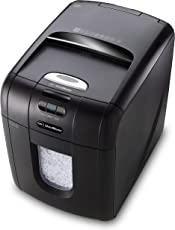 GBC AUTO+ 130M Auto Feed Paper/Credit Card Micro Cut Shredder with Automatic Feed, 130 Sheet Capacity and 26L Bin