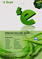 eScan Internet Security Suite Version 11 - 1 PC, 1 Year (CD)