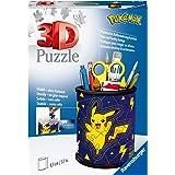 Ravensburger- Puzzle 3D 54 pièces Pot à Crayons-Pokémon Enfant, 4005556112579, Standard