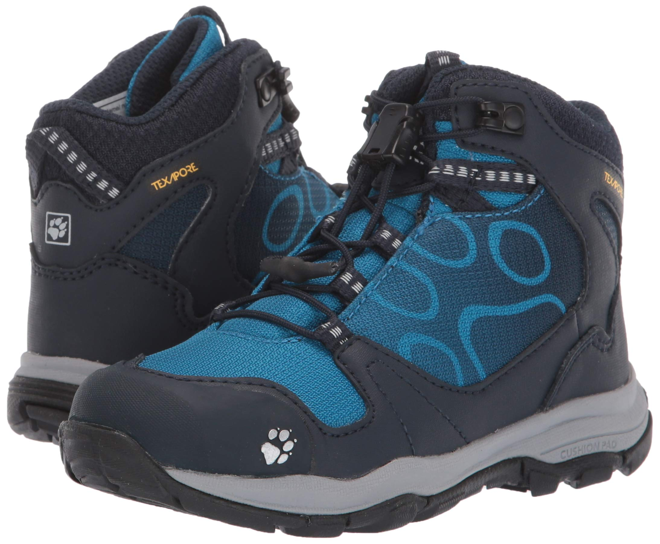 Jack Wolfskin Boys Akka Texapore Mid B Wasserdicht High Rise Hiking Shoes, One Size 6