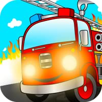 Ultimate fire truck games for kids: City driving activity app