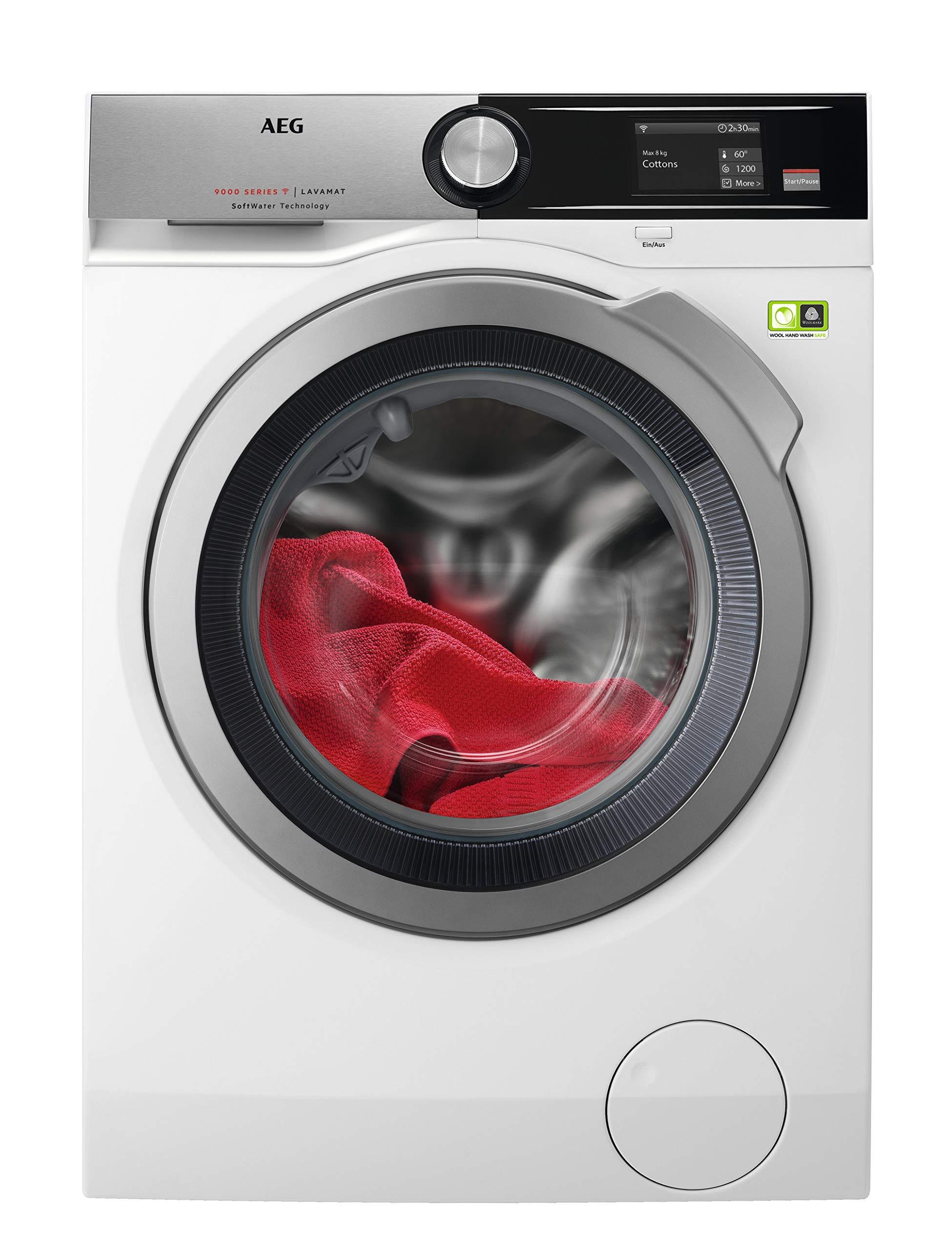 AEG L9FE96695 Waschmaschine Frontlader, 9 kg, ProTex Schontrommel, Knitterschutz